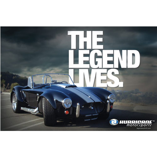 """The Legend Lives"" Wall Poster"